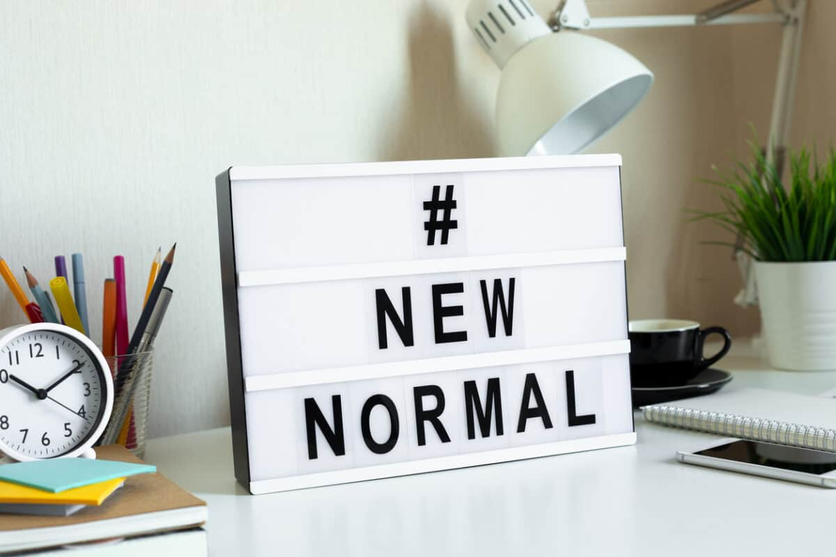 "Clues to the ""new normal"" of work"