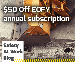 Safety At Work Blog EOFY 2019 Offer